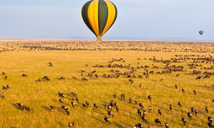3 Days Masai Mara Hot Air Ballooning Safari