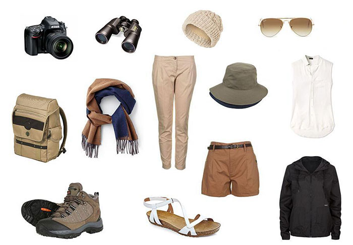 Packing List for Masai Mara