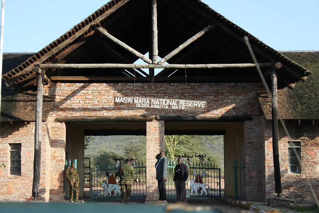 Masai mara gates