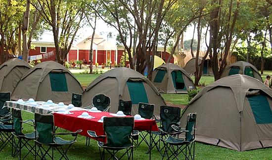 Camping in Masai Mara