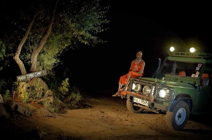 Night Game Drives in Masai Mara