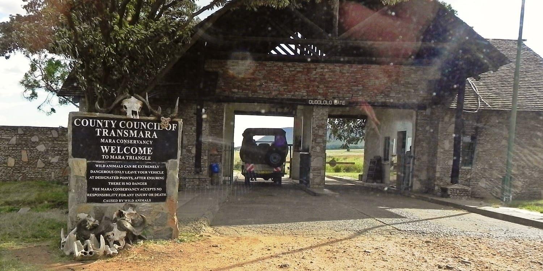 Masai Mara National Reserve Gates
