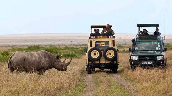 Visiting Masai Mara from Nairobi