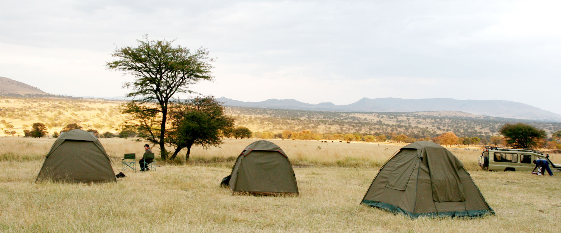 Camping in Masai Mara National Reserve