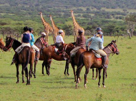 Horseback Riding Safaris in kenya