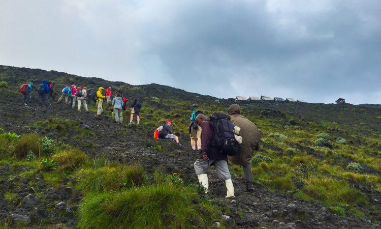 3 days Mount Nyiragongo hike Congo safari